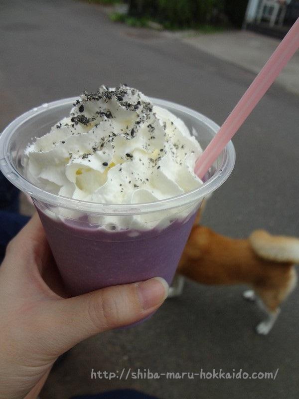 埼玉ジョンソンタウン「やきいもcafe kotarou」に柴犬まるといってきた!