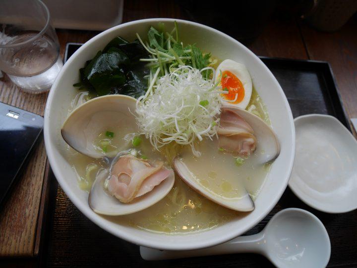 はまぐりラーメンが食べたい!「麺屋海神 吉祥寺店」に行って来ました!