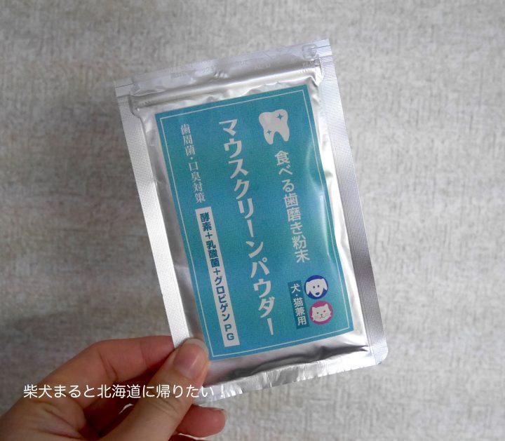 【3/2追記】食べる歯磨き粉末「マウスクリーンパウダー」を実際に使ってみた経過報告!