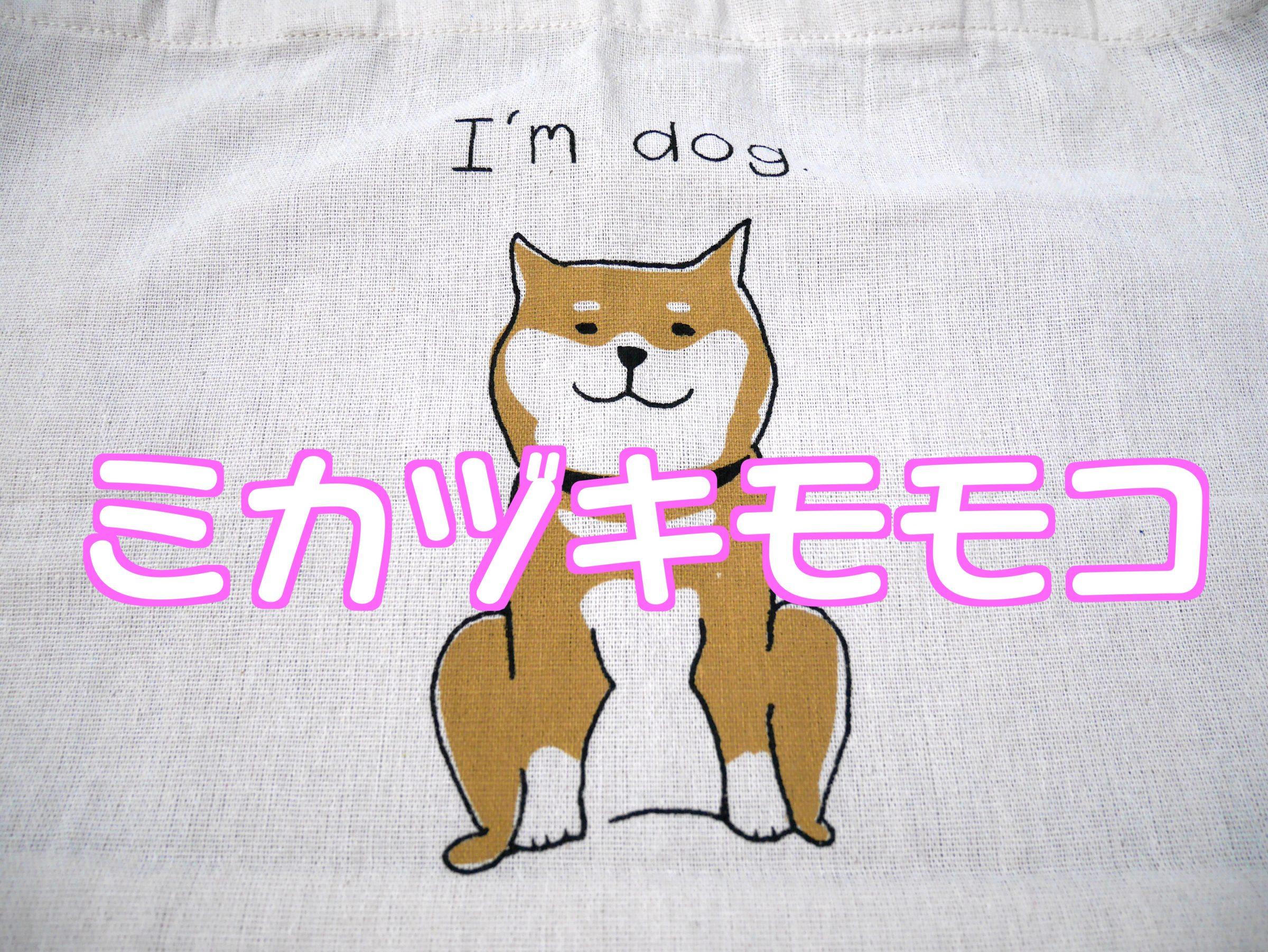 ミカヅキモモコの新作柴犬グッズが可愛すぎてやばい!ポーチにトートにクッションカバー!