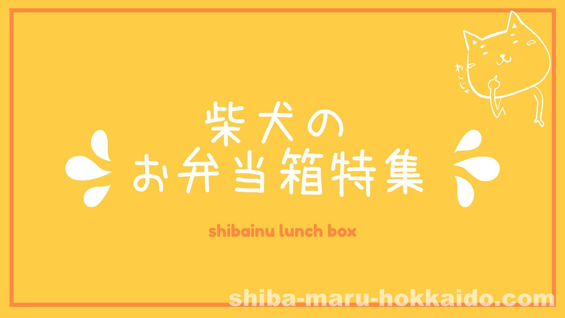 可愛い柴犬のお弁当箱特集作ってみた!実際に私が買ったのは…!?