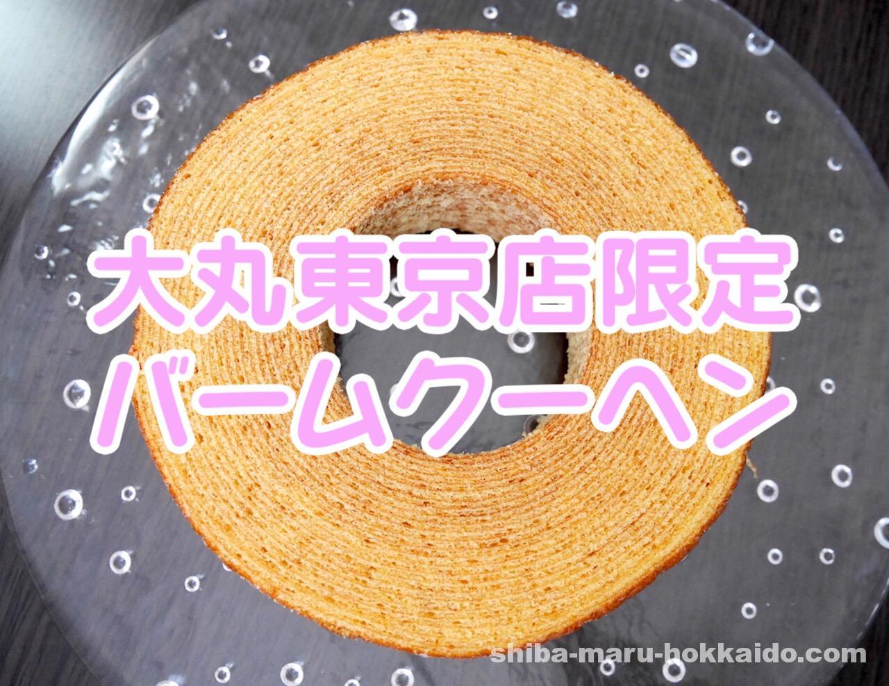 銀座ねんりん家の大丸東京店限定「もっとしっとり芽」を食べてみた感想を述べる!